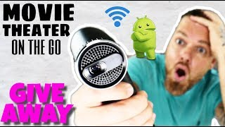 Home Theater Anywhere! K5H Mini Portable Projector Review