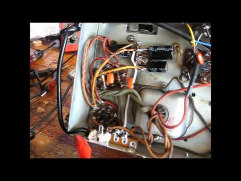 Replace a rectifier tube with diodes.