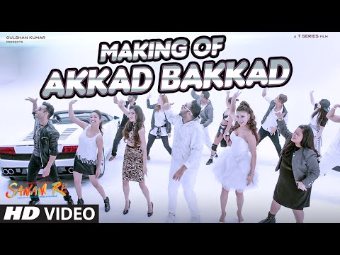 AKKAD BAKKAD SONG Making Video | SANAM RE | Ft. Badshah, Neha | Pulkit, Yami, Divya, Urvashi