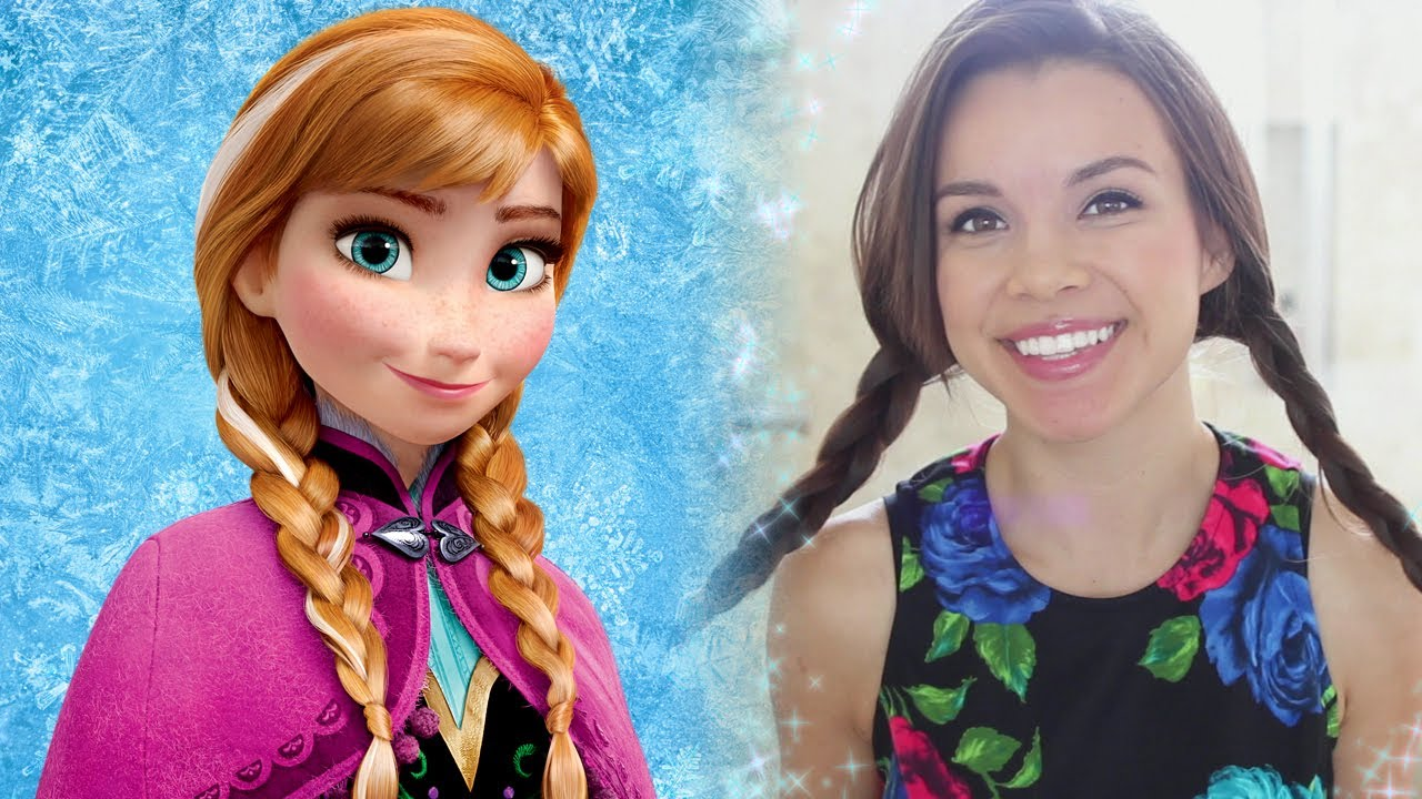 Frozen Inspired Anna Lookbook A Missglamorazzi Disney Exclusive