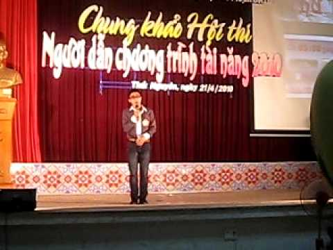 MC tai nang 2010 truong DHSPTN