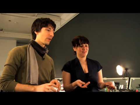 SalonTech NYFW 2010 Daniel Vosovic with Enrico Mariotti