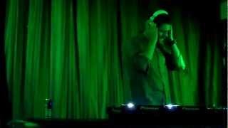 Brian McFadden DJing at The Manhattan
