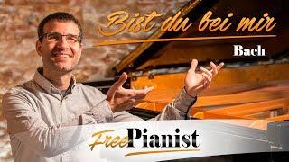 Bist du bei mir - Low voices - KARAOKE / PIANO ACCOMPANIMENT - Stölzel / Bach