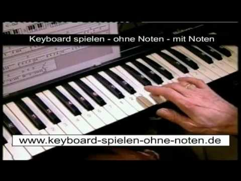 keyboard ohne noten spielen