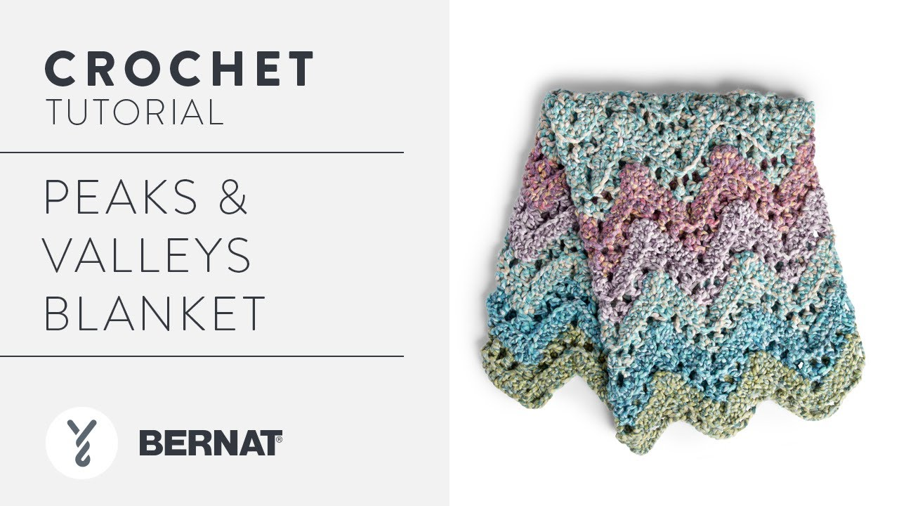 9108214a7 Crochet Peaks & Valleys Blanket | Easy Colorful Chevrons With The Crochet  Crowd