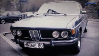 """GLAS"" + ""BMW"" Small and Large classic cars... BMW - Kleine und große Oldtimer."