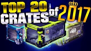 Top 20 Best Crate Openings Of 2017 | The 'CRATE KING' Montage