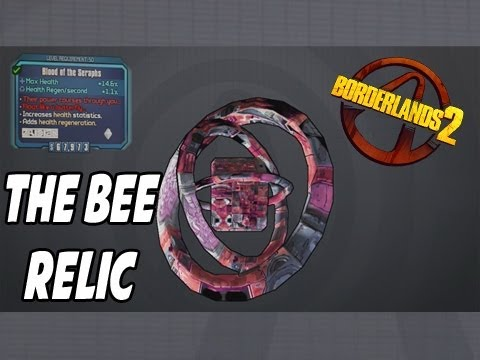 "Borderlands 2 - "" The Bee "" Relic ( +AMP Damage Relic ... Borderlands 2 The Bee"