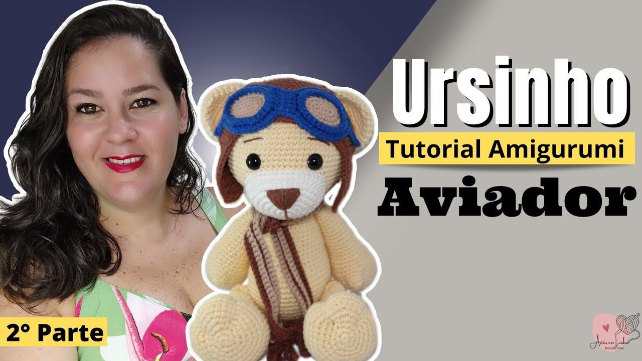 Urso com Cachecol Amigurumi em Crochê Teddy (com imagens) | Amigurumi | 720x1280