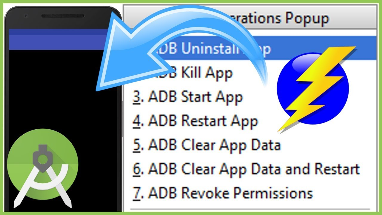 Quickly Reset the App Data (and more) with ADB Idea - Android Studio  Tutorial