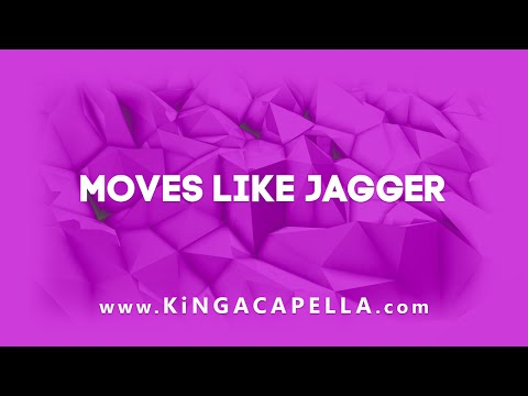 Maroon 5 feat. Christina Aguilera - Moves Like Jagger (Studio Acapella)