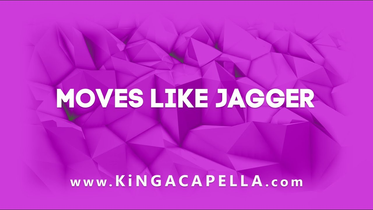 moves like jagger audio download