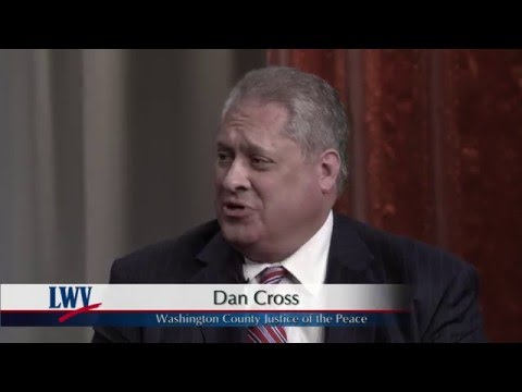 Video Voters Guide Washington County Justice of the Peace: Dan Cross
