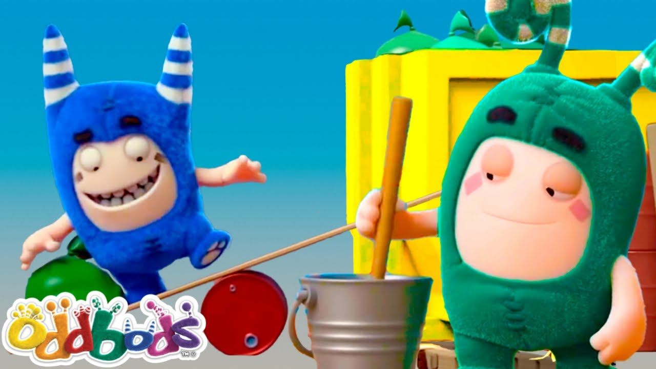 CLEARING OUT, CLEAN IT UP! | Oddbods | Cartoons for Babies & Kids