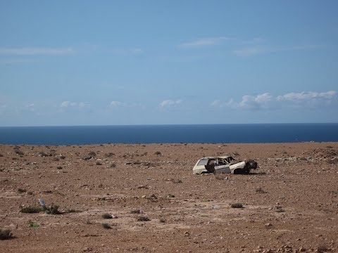 [Slow TV] Motorcycle Ride - Morocco - Western Sahara - Dakhla to Mauritania
