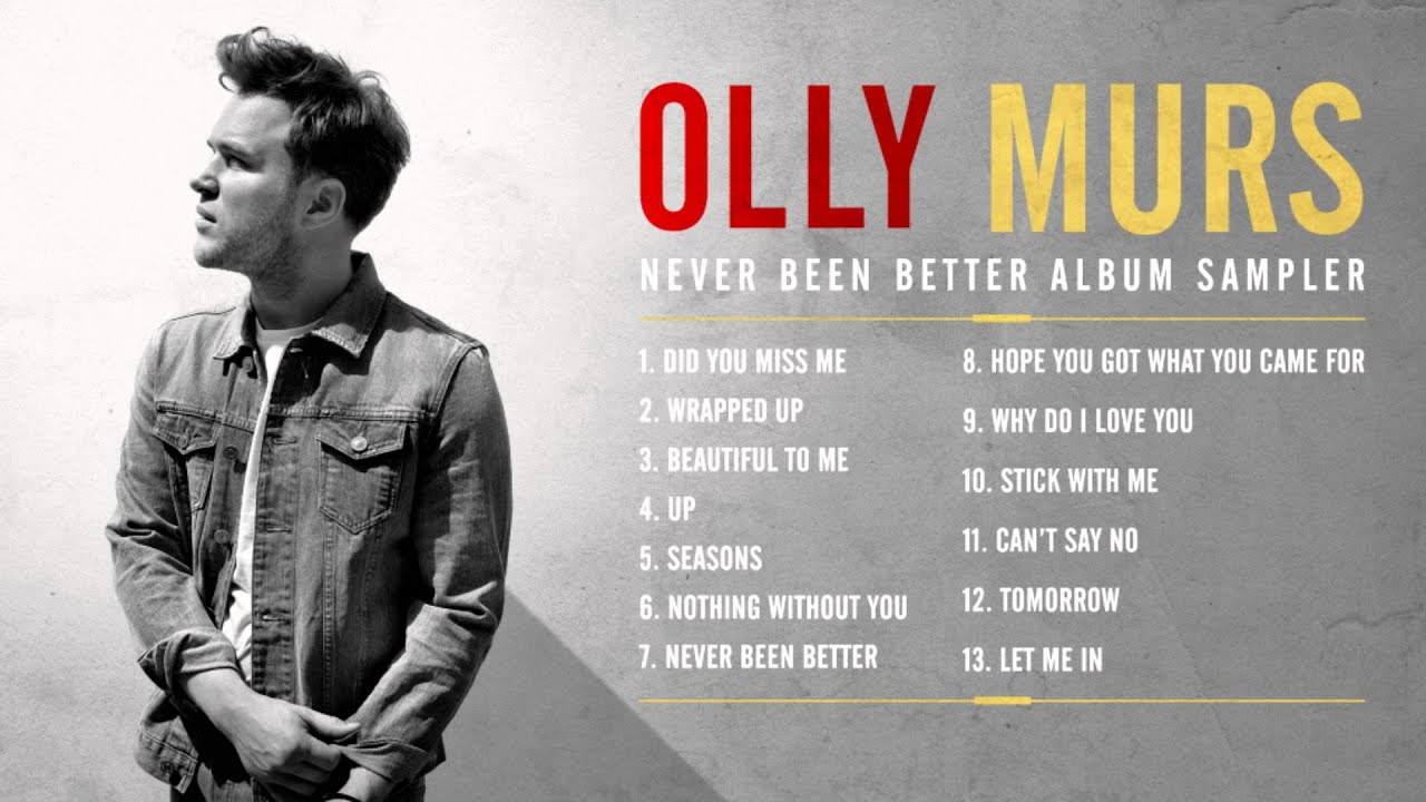 Olly Murs Tour  Song List