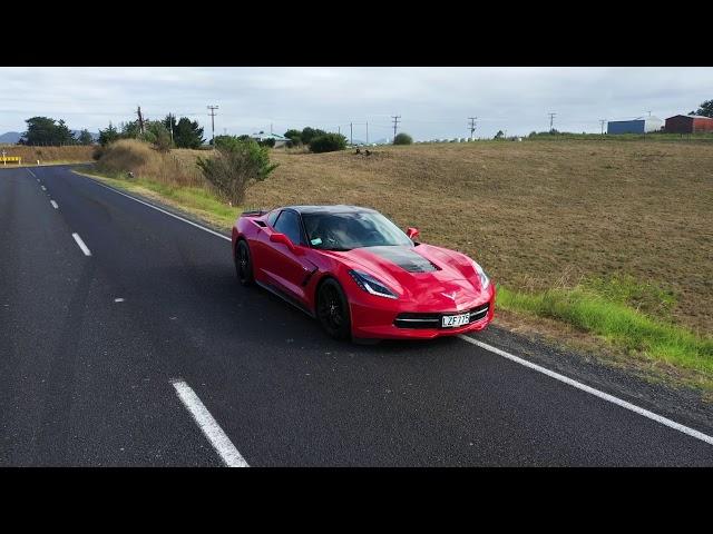 Corvette C7 in New Zealand