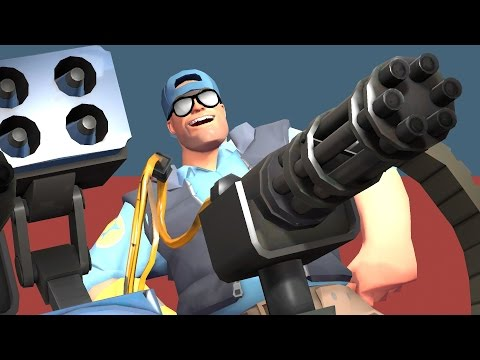 TF2: Stock Engineer on 5 CP - How To Win Casual