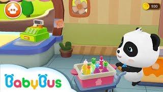 Tienda de jugos del Panda Bebé | Juego Infantil | Educación Infantil | BabyBus Español