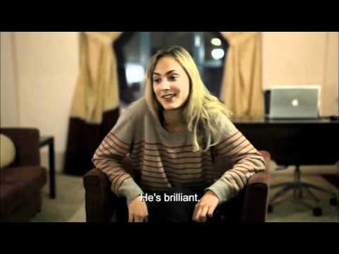 Nora Arnezeder  Guerlain with english subtitles