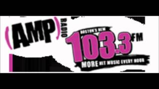 103.3 WODS flips to 103.3 AMP Radio - June 28, 2012 (11:20AM - 12PM)