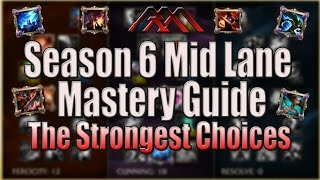 Season 6 Mid Lane Mastery Guide - AP Champions - League of Legends