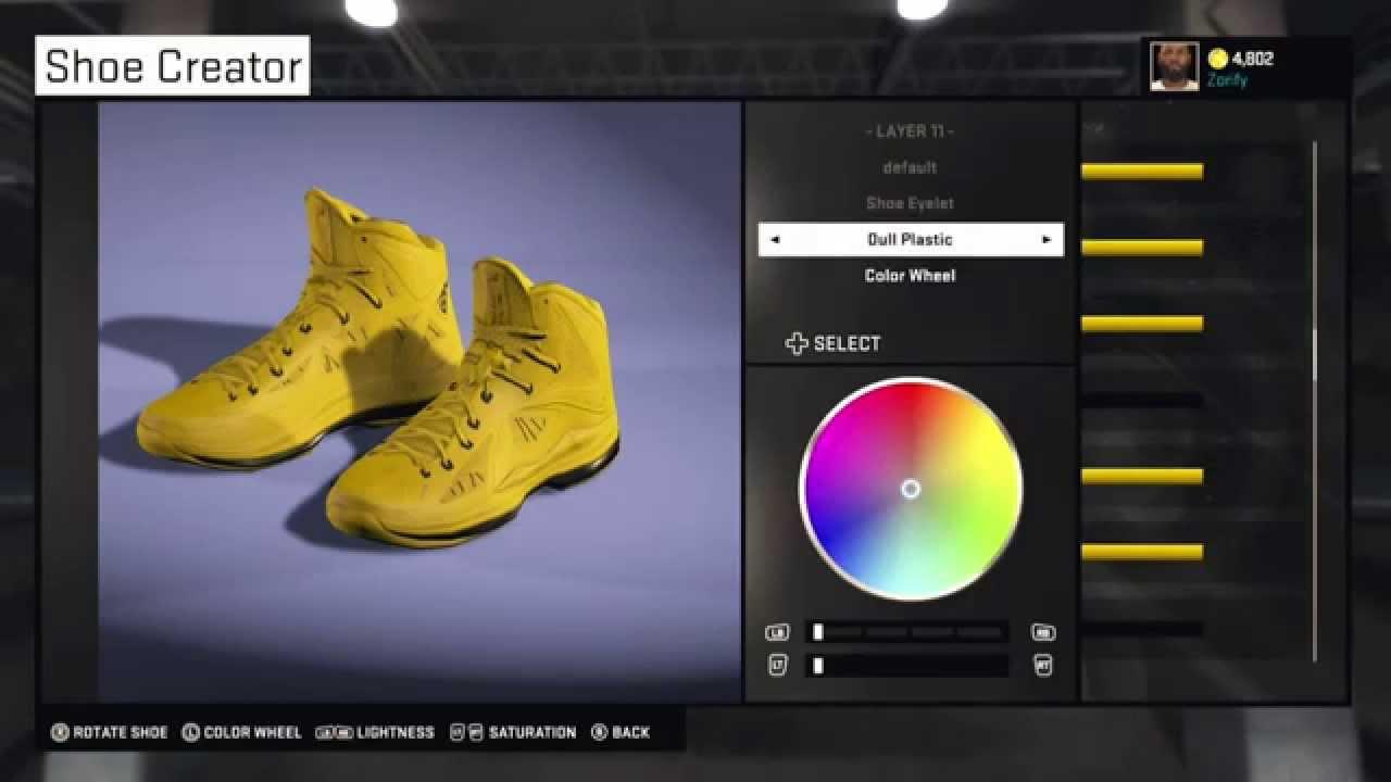 fdc0501ec555 NBA 2K15 Shoe Creator - Nike LeBron 10