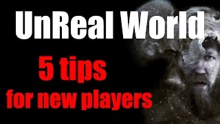 UnReal World - 5 tips for new players