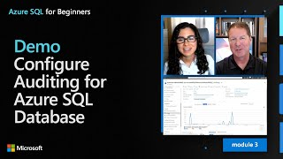Demo: Configure Auditing for Azure SQL Database | Azure SQL for beginners (Ep. 29)