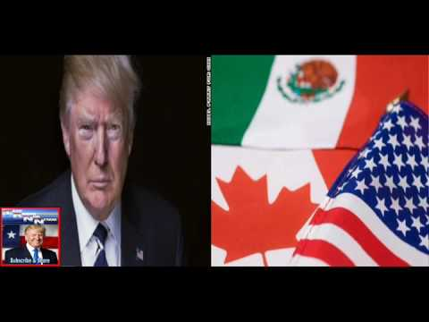 Trump Tells Canada And Mexico He Will Renegotiate, Not Withdraw From NAFTA