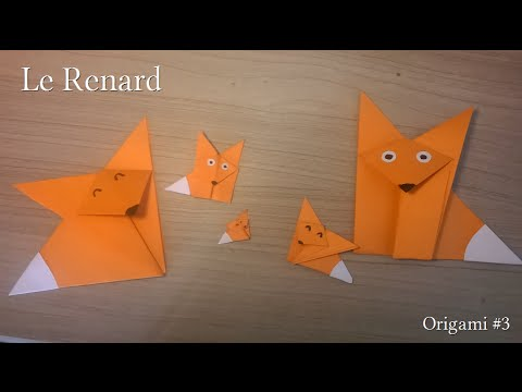 renard origami 3 youtube. Black Bedroom Furniture Sets. Home Design Ideas