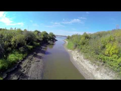 Beaver Creek Conservation Area South Saskatchewan River FPV Aerial Video