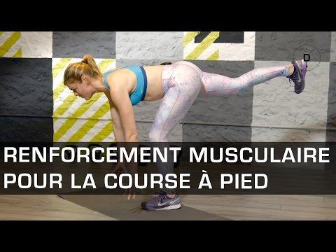 Renforcement musculaire pour la course à pied - Fitness Master Class