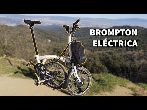 Brompton Eléctrica - Review en Español