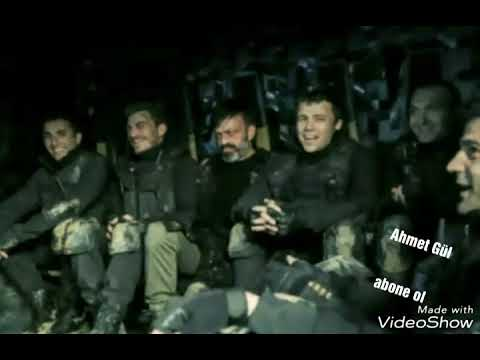 Söz- Komando Marşı (biz daglara atariz pusu)