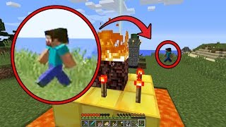 I found Herobrine in Minecraft AGAIN! What does he want? (Scary Minecraft Video)
