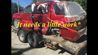 fixing-up-the-old-trailer-and-cleaning-up-the-back-of-the-truck