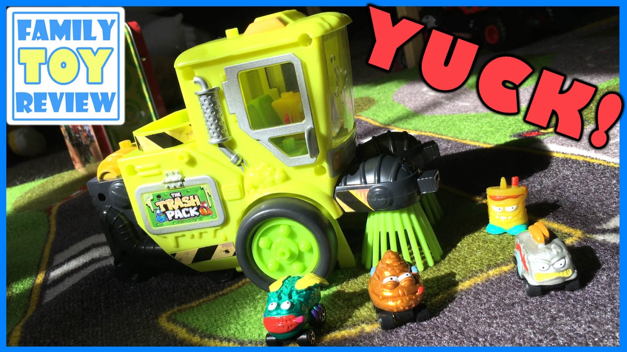 Toy Cars for Kids - Trash Pack Toys Street Vehicles - Trash Wheels ...