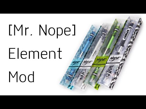 Обзор ручки для Pen Spinning – [Mr. Nope] Element Mod