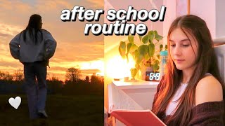 after school routine of an A level student