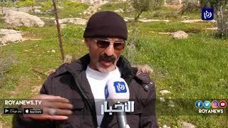 الاحتلال يواصل اعتداءاته بحق أهالي وادي حصين في الخليل - (15-3-2019)
