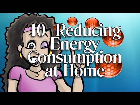 10  Reducing Energy Consumption at Home