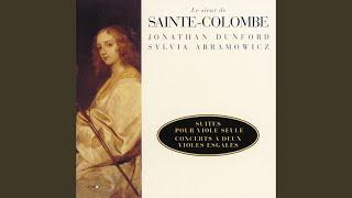 Sainte Colombe: Suite en sol mineur - Prélude