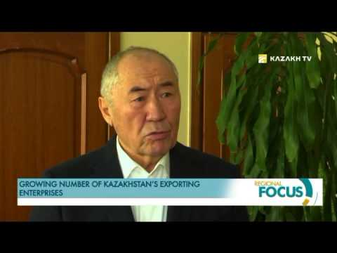 Growing number of Kazakhstan's exporting enterprises