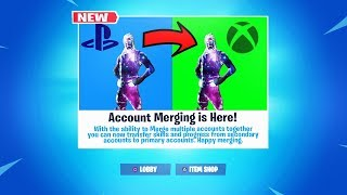 "Fortnite ""ACCOUNT MERGING Release Date! (How to ACCOUNT MERGE in Fortnite)"