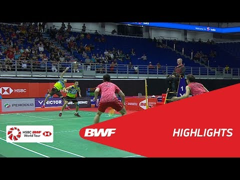 Perodua Malaysia Masters 2018   Badminton MD - QF - Highlights   BWF 2018