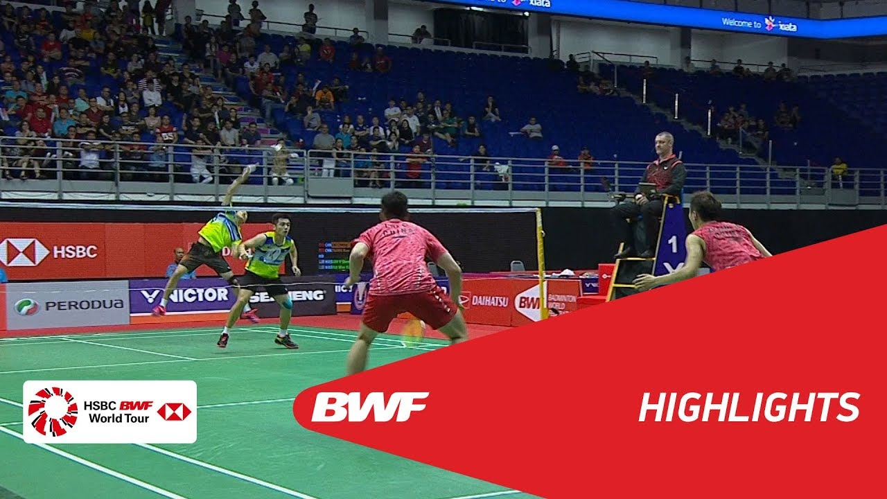 Perodua Malaysia Masters 2018  Badminton MD - QF 2