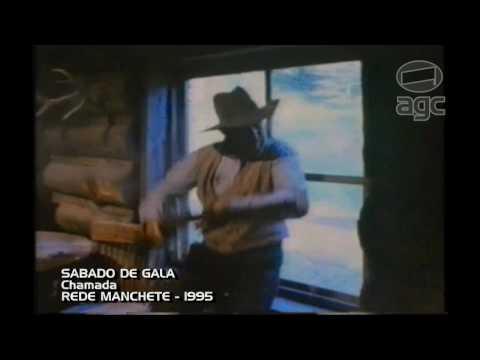 Chamada Sábado de Gala - Rede Manchete - 1995