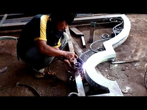 WA 087741023282  BENGKEL LAS Tangerang Selatan mengerjakan pagar, teralis dll